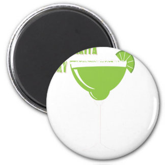 22nd February - Margarita Day - Appreciation Day 2 Inch Round Magnet