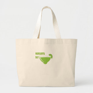 22nd February - Margarita Day - Appreciation Day Large Tote Bag