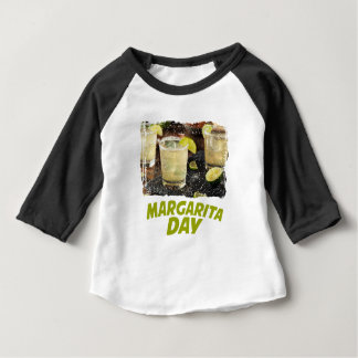 22nd February - Margarita Day Baby T-Shirt