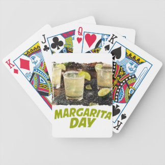 22nd February - Margarita Day Bicycle Playing Cards