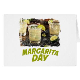22nd February - Margarita Day Card