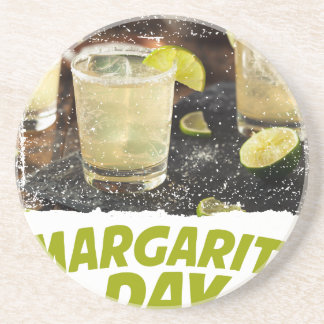 22nd February - Margarita Day Coaster