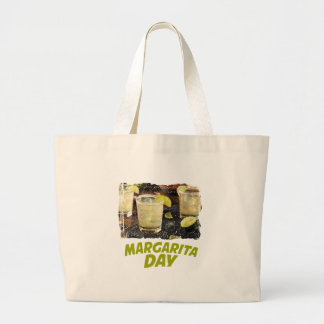 22nd February - Margarita Day Large Tote Bag