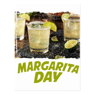 22nd February - Margarita Day Postcard