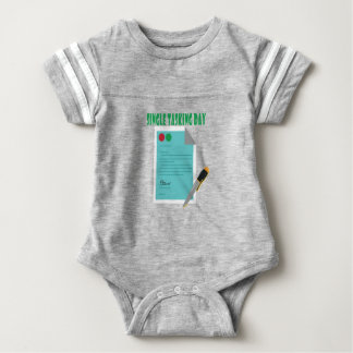 22nd February - Single Tasking Day Baby Bodysuit