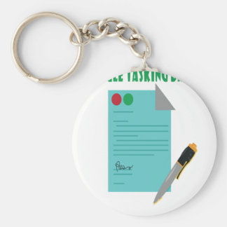 22nd February - Single Tasking Day Basic Round Button Keychain