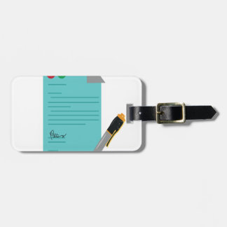 22nd February - Single Tasking Day Luggage Tag