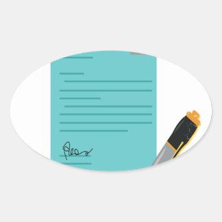 22nd February - Single Tasking Day Oval Sticker