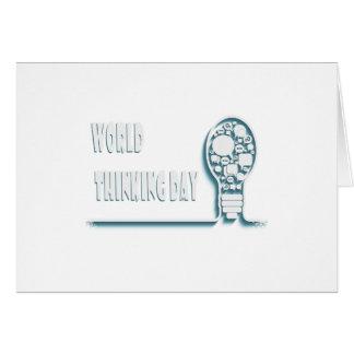 22nd February - World Thinking Day Card