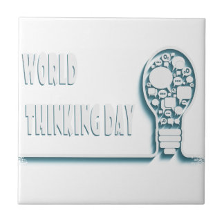 22nd February - World Thinking Day Ceramic Tiles