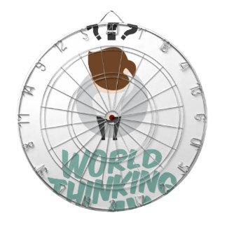 22nd February - World Thinking Day Dartboard