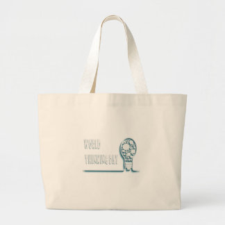 22nd February - World Thinking Day Large Tote Bag