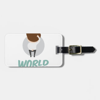 22nd February - World Thinking Day Luggage Tag