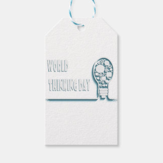 22nd February - World Thinking Day Pack Of Gift Tags