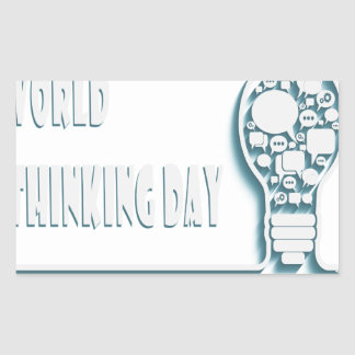 22nd February - World Thinking Day Sticker