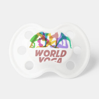 22nd February - World Yoga Day Baby Pacifiers