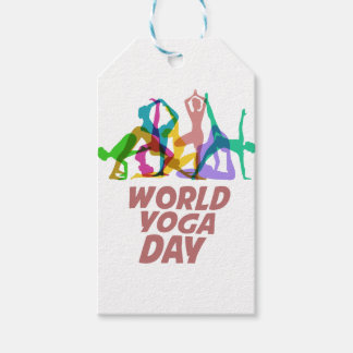 22nd February - World Yoga Day Gift Tags