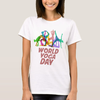 22nd February - World Yoga Day T-Shirt