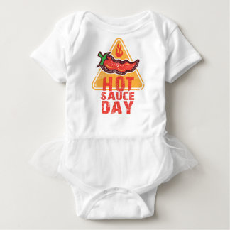 22nd January - Hot Sauce Day Baby Bodysuit