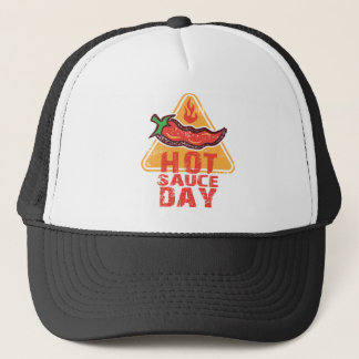 22nd January - Hot Sauce Day Trucker Hat