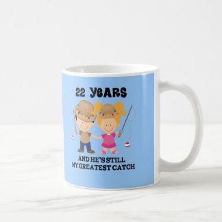 22nd Wedding Anniversary Gift For Her Coffee Mug