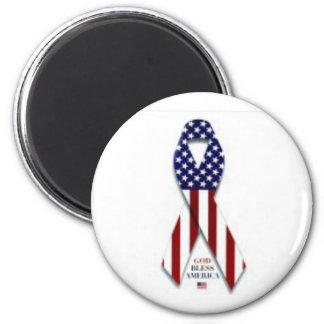 2300-5004_b~U-S-Flag-Ribbon-Posters Magnet