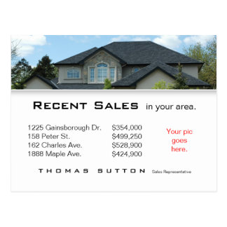 232 Real Estate Postcards Recent Sales Rooftop