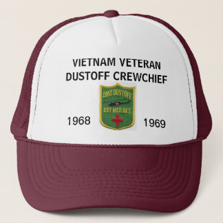 237th DUSTOFF CREWCHIEF MESH HAT