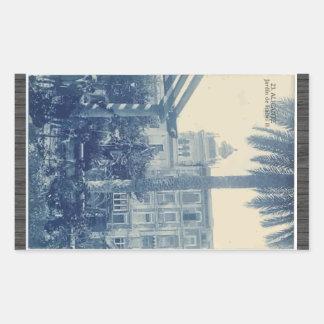 23.Alicante Jardin De Isabel Ii, Vintage Sticker