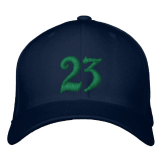 23 EMBROIDERED HAT