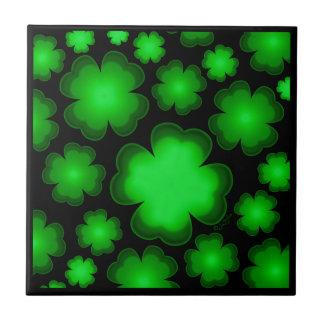 23 Four Leaf Clovers Tile