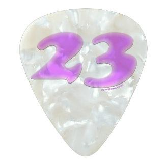 23 Pearl Guitar Pick