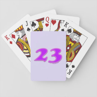 23 Playing Cards