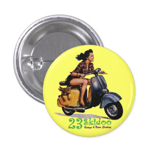 23 Skibutton 1 Inch Round Button
