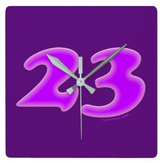 23 Square Clock