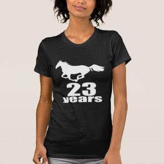 23 Years Birthday Designs T-Shirt