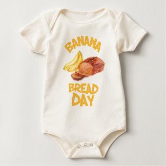 23rd February - Banana Bread Day Baby Bodysuit