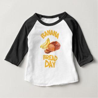 23rd February - Banana Bread Day Baby T-Shirt