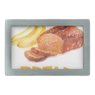 23rd February - Banana Bread Day Belt Buckles