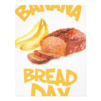 23rd February - Banana Bread Day Letterhead