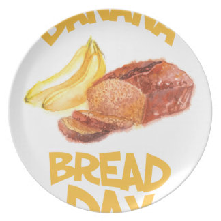 23rd February - Banana Bread Day Plate