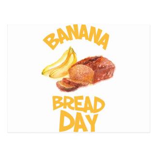 23rd February - Banana Bread Day Postcard