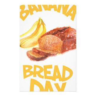 23rd February - Banana Bread Day Stationery