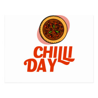 23rd February - Chilli Day - Appreciation Day Postcard