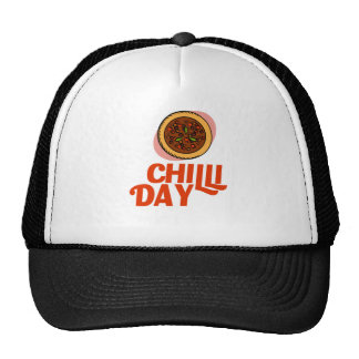 23rd February - Chilli Day - Appreciation Day Trucker Hat