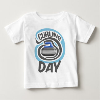 23rd February - Curling Is Cool Day Baby T-Shirt