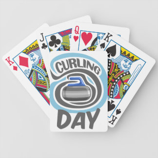 23rd February - Curling Is Cool Day Bicycle Playing Cards