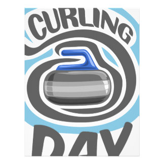 23rd February - Curling Is Cool Day Letterhead