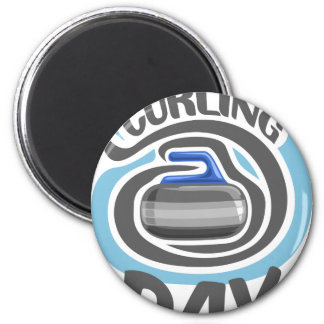 23rd February - Curling Is Cool Day Magnet