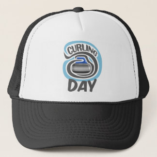 23rd February - Curling Is Cool Day Trucker Hat